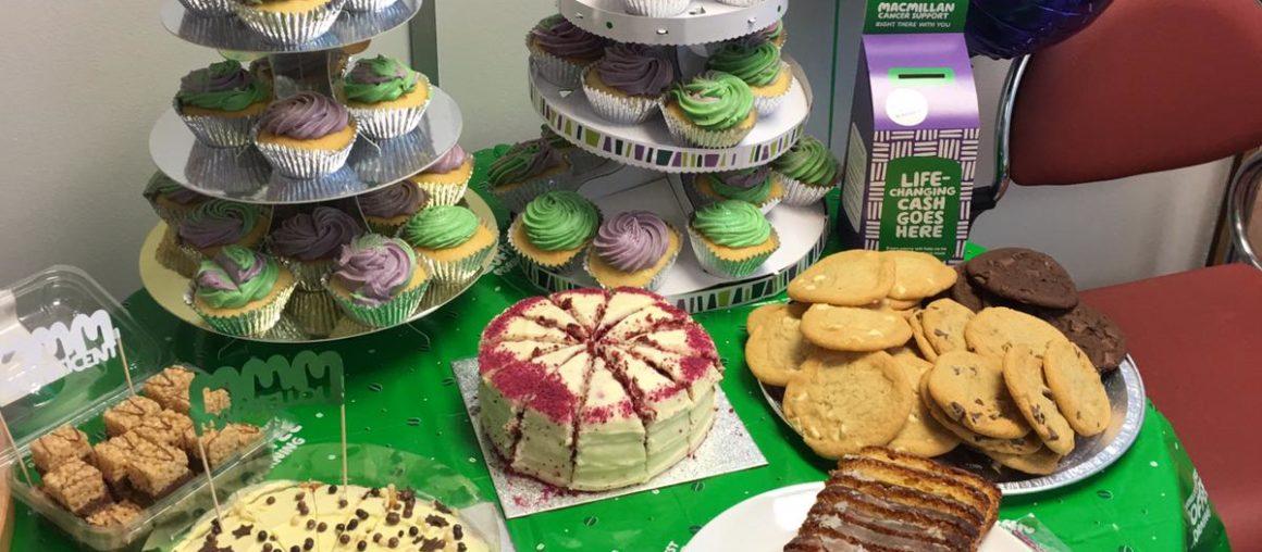 Macmillan Cake sale 2019!